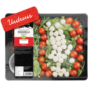 Perhesalaatti Mozzarella